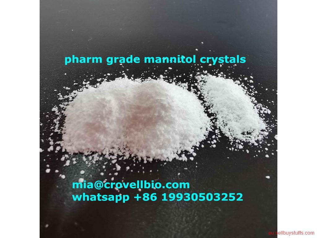 second hand/new: Mannitol crystals CAS 87-78-5 ( mia@crovellbio.com whatsapp +86 19930503252  wickr daisylang
