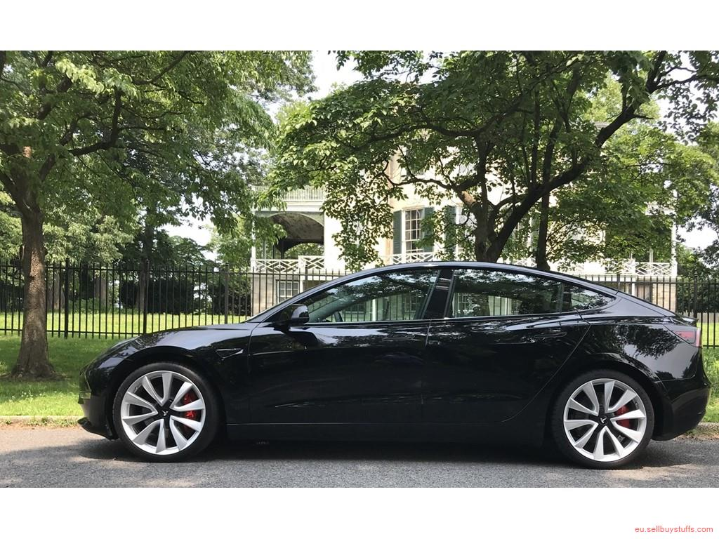 second hand/new:  Tesla Model 3